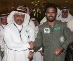 مع مدير عام مطار الملك فهد الدولي